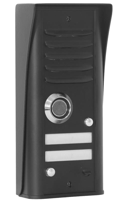 domofon cyfral 39 cosmo 39 zestaw 2 lokatorski czarny. Black Bedroom Furniture Sets. Home Design Ideas